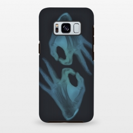 Galaxy S8 plus  X-Ray I'm OK by  (ok,x-ray,xray,hand,palm,bones,skeleton,danger,detector,vision,ultra,waves,radiation,generator)