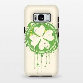 Galaxy S8 plus  Patrick's clover by  (Patrick,clover,Saint Patrick's Day,day,Saint,festival,parade,holydays,irland,irish)