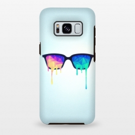 Galaxy S8 plus  Psychedelic Nerd Glasses with Melting lsdtrippy by  ()