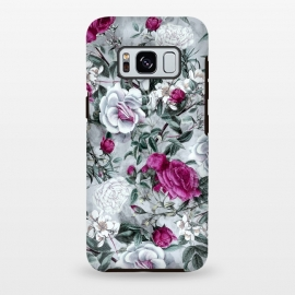 Galaxy S8 plus  Floral Pattern V by  (flowers,roses,romantic,art,design,RizaPeker)