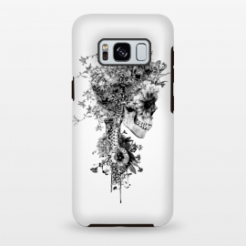 Galaxy S8 plus  Skull BW by