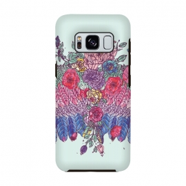 Galaxy S8  BohoChic Wings on Pale blu by Stefania Pochesci