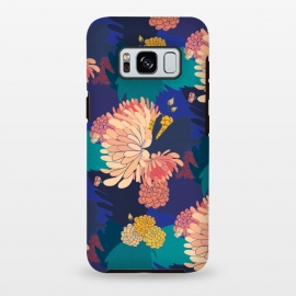 Galaxy S8+  Chrysathumum Blue by Zoe Charlotte ()