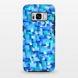 Galaxy S8 plus  Ocean Slate by  (blue,ocean,sea,squares,geometric)