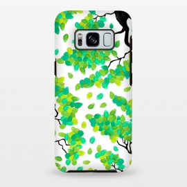Galaxy S8 plus  Petal Green by  (green,petal,tree,floral,nature,organic)
