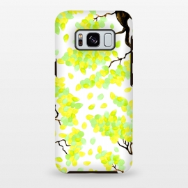Galaxy S8 plus  Petal Yellow by  (yellow,trees,floral,petal,nature)