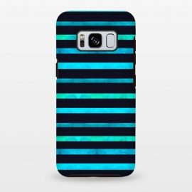 Galaxy S8 plus  Surf Stripes by  (surf,stripes,ocean,geometric,abstract)