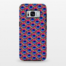Galaxy S8+  Retro Peacock by Amaya Brydon (peacock,feathers,pattern,retro)