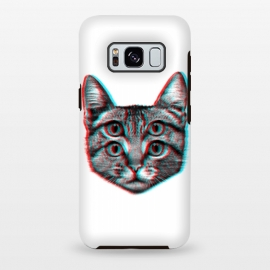 Galaxy S8+  3D Cat by Mitxel Gonzalez (cat,pussy,feline,cats,meow,miau,gato,3d)