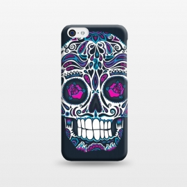 iPhone 5C  Calavera IV Neon  by Wotto