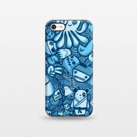 iPhone 5C  Raindrops and Doodles by Wotto