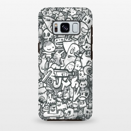 Galaxy S8 plus  Watercolor Doodle by  (watercolor,watercolour, watercolors, paint, painting, characters, character design, doodles,doodle, doodled,drawn, hand drawn, fun, cute, funny, silly, details,wotto)