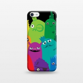 iPhone 5C  Phone full of Monsters by Wotto