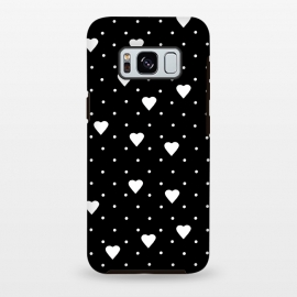 Pin Point Hearts White by Project M ()