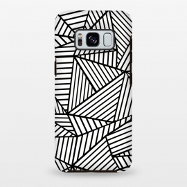 Galaxy S8+  AB Lines Zoom White by Project M ()