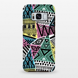 Galaxy S8+  Tribal triangles by Laura Grant