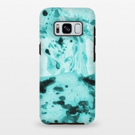 Galaxy S8 plus  Turquoise Marble by  (marble ,pattern,turquoise)