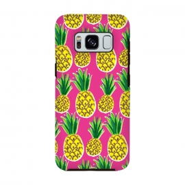 Painted pineapples by Laura Grant (pineapple,fruit,tropical,summer)