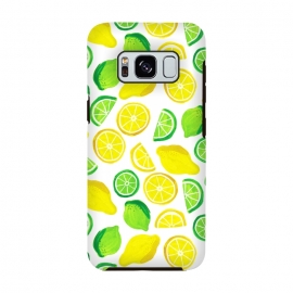 painted lemon and limes by Laura Grant (lemon,lime,fruit,tropical,summer)