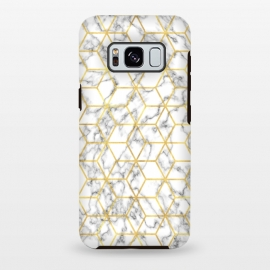 Galaxy S8+  Graphic Marble by Martina (gold,golden,luxury,deluxe,marble,stone,texture,modern,stylish,elegant,classy,girlboss,graphic,pattern)
