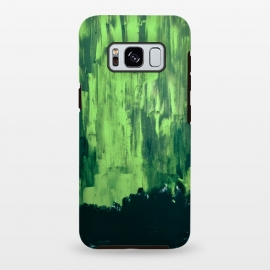 Galaxy S8+  Lime Green Northern Lights by ANoelleJay ()