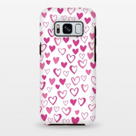 Lovehearts by Rhiannon Pettie (Love,Lovehearts,heart,pink)