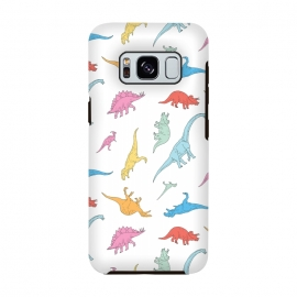 Galaxy S8  Dino by Julien Missaire