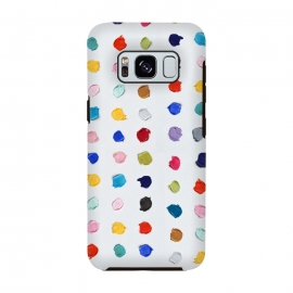 Polka Daubs by Ann Marie Coolick (polkadots,polka dots,circles,colorful,pop art,multicolor,confetti)