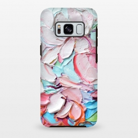 Galaxy S8 plus  Cherry Blossom Bouquet by  (cherry blossoms,spring,flowers,pink,floral,texture,chic)
