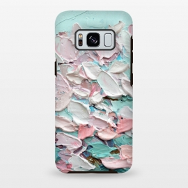 Galaxy S8 plus  Spring Blooming by  (cherry blossoms,pink,spring,painting,flowers,floral,bouquet,sakura)