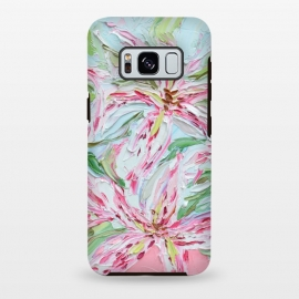 Galaxy S8 plus  Stargazer Bouquet by  (stargazers,lilies,flowers,lily,floral,pink,spring,springtime)