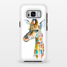 Galaxy S8 plus  Colorful Giraffe by  ()