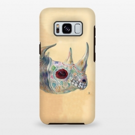 Galaxy S8+  Day of the Dead Rhino by Brandon Keehner ()
