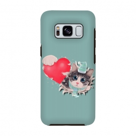 Galaxy S8  Cat Steal your Heart by Tummeow