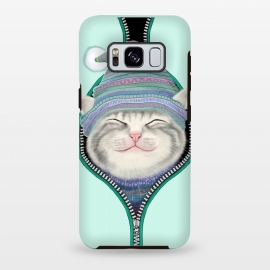 Galaxy S8 plus  Cat in The Zip by