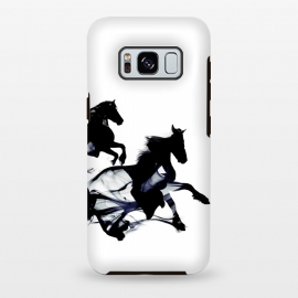 Galaxy S8+  Black Horses by Róbert Farkas