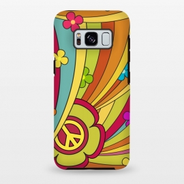 Galaxy S8 plus  Peace (1960's Fancy) by