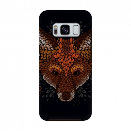 Galaxy S8  Fox Face by Q-Artwork