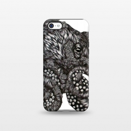 iPhone 5C  Barnacle Octopus by Elizabeth Mazur