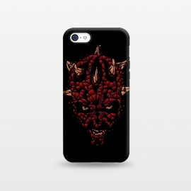 iPhone 5C  SHATTERED EVIL by SKULLPY