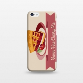 iPhone 5C  Twin Peaks Cherry Pie by Alisterny