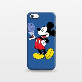 iPhone 5C  Mickey Mouse Death Star Plans Star Wars by Alisterny