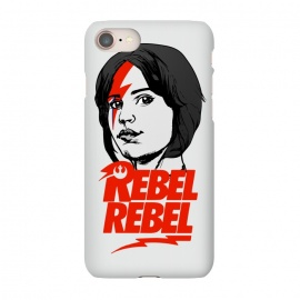 iPhone 8/7  Rebel Rebel Jyn Erso David Bowie Star Wars Rogue One  by Alisterny