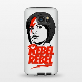 Galaxy S7  Rebel Rebel Jyn Erso David Bowie Star Wars Rogue One  by Alisterny