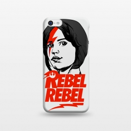 iPhone 5C  Rebel Rebel Jyn Erso David Bowie Star Wars Rogue One  by Alisterny