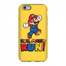 iPhone 6/6s  Run, Mario Run by Alisterny (mario, nintendo, mario-bros, mariobros, mario-run, run, gaming, games, iphone, game, forest-gump,mashup, mashups, funny, popculture, funnytshirt, funnyshirt, tshirt, parody, nerd, geek, geeky, humor, humour, fanart, fan art, movies, movie, film, quotes, cool, design, tee, t-shirt)