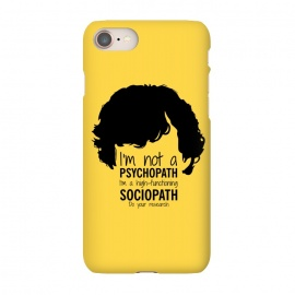 iPhone 8/7  Sherlock Holmes High Functioning Sociopath by Alisterny