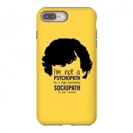 iPhone 8/7 plus  Sherlock Holmes High Functioning Sociopath by Alisterny