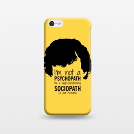 iPhone 5C  Sherlock Holmes High Functioning Sociopath by Alisterny