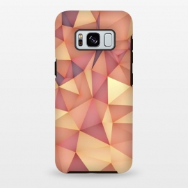 Galaxy S8 plus  Meduzzle: Blond by  (Geometry,vector,meduzzle,texture,triangle,triangles,minimal,abstract,colorful,geo)